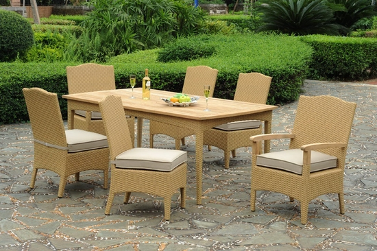 Hampshire Rectangular Dining Set of Seven (MF)