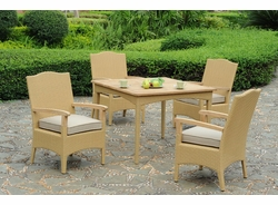 <b>Hampshire Square Dining Set of Five (MF)</b>