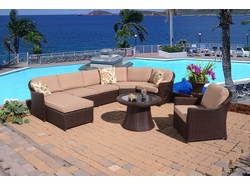 Huntington Sectional Left Facing Chaise Lounge (MF)