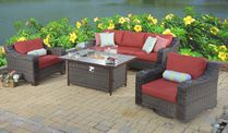 "Hyde Park ""Fire Pit"" Collection Set of Four (MF)"
