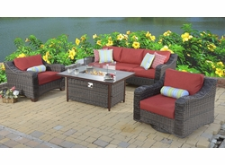"""Hyde Park """"Fire Pit"""" Collection Set of Four (MF)"""