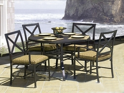 "Ibiza 48"" Dining Set of Five"
