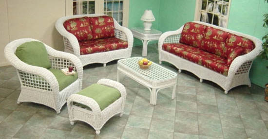Java Seagrass Loveseat (MF)