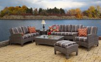 Maroma Loveseat in Ocean Gray (MF)