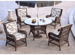 Key Largo Dining Chair Cushions with Fran's Indoor/Outdoor Fabrics (UPS $25)