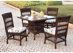 Key Largo Square Dining Set/5 (MF)