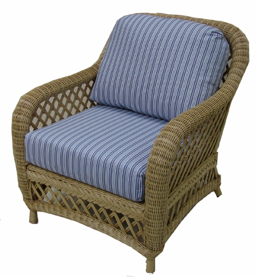 Lanai Chair Cushions with Fran's Indoor/Outoor Fabrics (UPS $25)