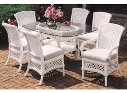 Lanai Oval Dining Set