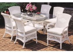 Lanai Oval Dining Set of Seven  (MF)
