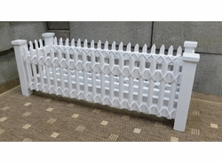 Large Picket Fence Planter (UPS $25)