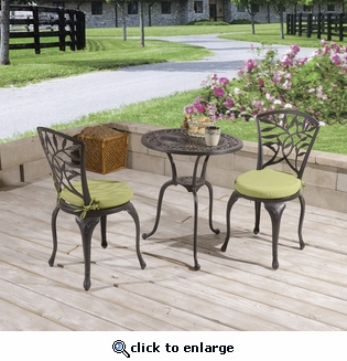 Leaves Bistro Set of 3 (UPS $80)