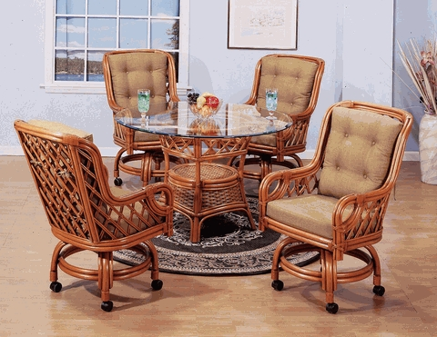 Lotus Swivel Dining Chair Cushions with Sunbrella & Richloom Premiere Fabrics (UPS $25)