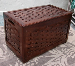 Mahogany Keepsake Chest (UPS $35)