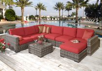 Medora Chaise Sectional Set of 6 (MF)
