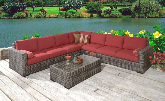 Medora Lounge Sectional Set of 6 (MF)