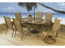 Mendoza Oval Dining Table (MF) (15% Off!)