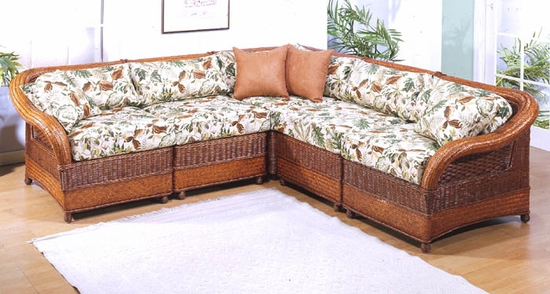 Moroccan Sectional - Left Arm Unit (MF)