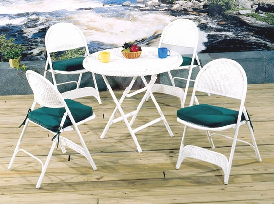 Outdoor Folding Chairs Set of 2 (UPS $55)