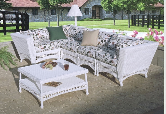 Outdoor Sectional Coffee Table (UPS $80)