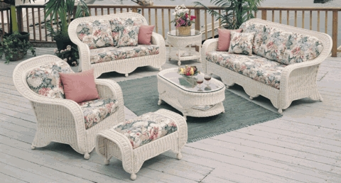 Peninsula Chair Cushions (UPS $25) with Fran's Indoor/Outdoor Fabrics
