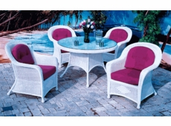 Plymouth Dining Chair Cushion with Fran's Indoor/Outdoor Fabric (UPS $25)