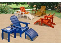 Poly-Wood Adirondack Chair (MF)