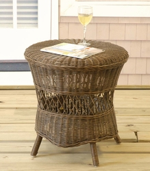 Round Wicker Table (UPS $45)