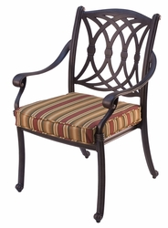 Santorini Dining Arm Chair (UPS $85)