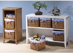 Set of Two Baskets with Liners (UPS $15)