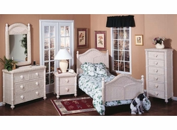 South Pacific Twin Size Bed (MF)