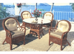Sovereign Dining Chair Cushion (UPS $20) with Fran's Indoor/Outdoor Fabrics