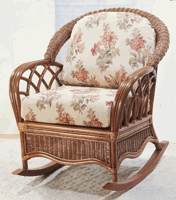 Sovereign Rocker Cushions with Sunbrella & Richloom Premiere Fabrics (UPS $25)