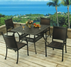 """Springfield 44"""" Square Table (MF)"""
