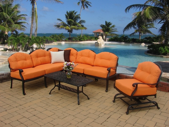 Springfield Sectional with Motion Chair & Coffee Table (MF)