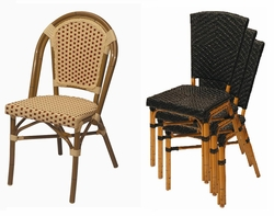 "Stackable Cafe ""All Weather"" Chairs"