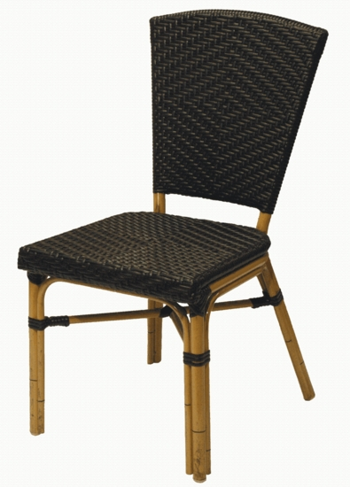 Stackable Cafe Style A Chair (UPS $65)