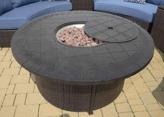 Titan Fire Pit Coffee Table (MF)