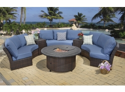 Titan Fire Pit Sectional Collection (MF)