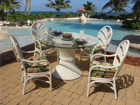 Wheat Stack Dining Set of 5 (MF)