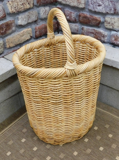 Wicker Basket Hamper (UPS $35)