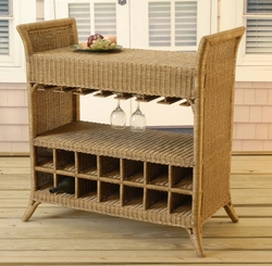 Wicker Wine Server (UPS $120)