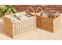 <b>Willow Recycling Baskets (UPS $30)</b>