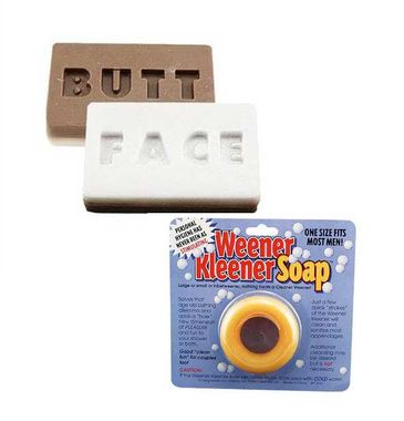 Weener Kleener and Butt Face Soap Gift Set