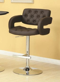"29"" Contemporary Adjustable Height Barstool"