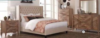 4PC Bencia Bedroom Collection by Scott Living