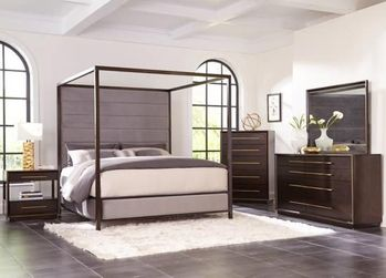 4PC Ingerson Canopy Bedroom Collection by Scott Living