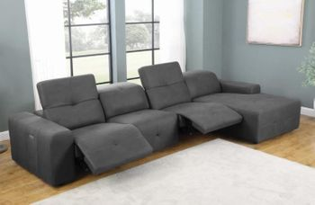 4PC recliner sectional  # 603471P