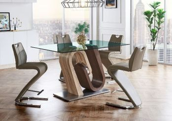 5PC Bar Table and 4 Stools D4126BT-BL W D4126BS