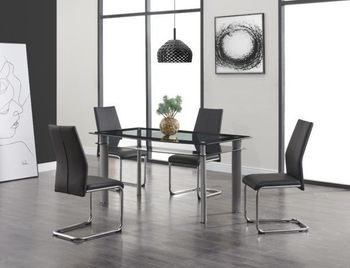 5PC Dining Table and 4 Chairs D1058DT & D41DC