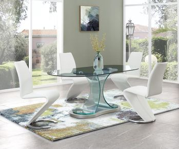 5PC Dining Table and 4 Chairs D1713DT W/ D9002DC